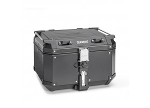 KFR480B - Kappa MONOKEY® top-case K-FORCE aluminium black painted 48 lt