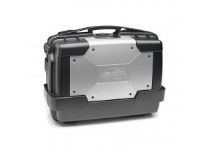 KGR33 - Kappa MONOKEY® GARDA Top-case 33 ltr with silver cover on top-shell