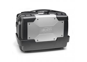KGR46 - Kappa MONOKEY® Top-case,capacity 46 ltr with silver cover on top-shell