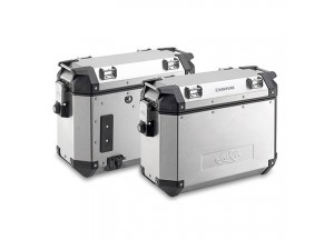 KVE37APACK2 - Kappa Pair of side-cases capacity 37 ltr MONOKEY® K-VENTURE