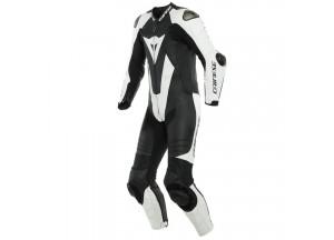 Leather Suit Dainese Laguna Seca 5 1PC Summer Black/White