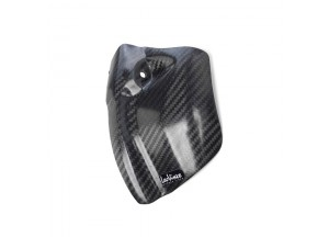 10012 - Left engine case guard Leovince Carbon Fiber Honda CRE 250 F CRE 450 F