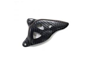 10021 - Front sprocket cover Leovince Carbon Fiber Yamaha WR 250 F YZ 250 F
