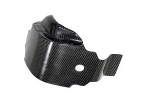 10097 - Glide plate engine case guards Leovince Carbon Fiber Suzuki RM-Z 450