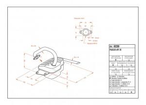 0220 - Muffler Leovince Sito 2-STROKE Piaggio Ape 50