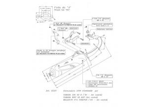 0597 - Muffler Leovince Sito 2T Malaguti F15 FIREFOX A.C. Yamaha JOG R WHY