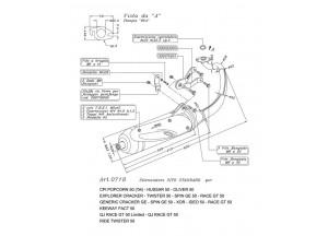 0718 - Muffler Leovince Sito 2-STROKE CPI HUSSAR 50 OLIVER 50 POPCORN 50