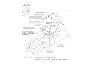 0726 - Muffler Leovince Sito 2-STROKE Peugeot VIVACITY 50