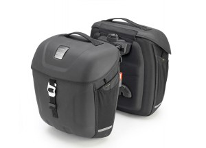 MT501- Givi Pair of thermoformed Multilock side bags 18 ltrs - Metro-T Range