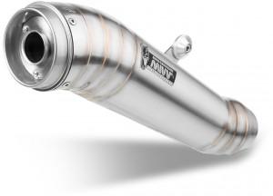 AT.016.LGX - Exhaust Mufflers Mivv GHIBLI Stainless Steel TRIUMPH SPEED TRIPLE