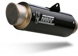 D.035.L2P - Exhaust Muffler Mivv GPpro Carbon DUCATI SCRAMBLER 800 (15-)