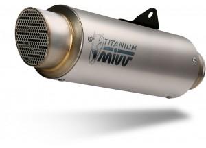 S.050.L6P - Exhaust Muffler Mivv SPORT GPpro Titanium SUZUKI GSX-R 1000 (17-)