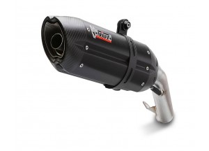 KT.012.L9 - Full Exhaust System Mivv SPORT SUONO STEEL BLACK KTM 390 DUKE 13-