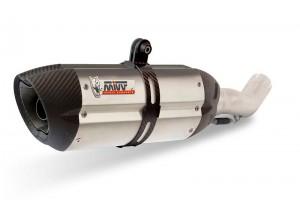B.021.L7 - Muffler Exhaust Mivv SPORT SUONO INOX BMW R NINE T 14-