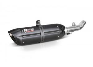 B.016.L9 - Silencer Exhaust Mivv SLIP-ON SPORT STEEL BLACK BMW R 1200 GS 2013>