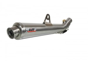 T.010.LC3 - Silencer Exhaust Mivv X-Cone Inox Low Pass Triumph Tiger 1050 '07>