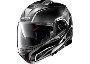 Helmet Flip-Up Full-Face Nolan N100.5 BALTEUS N-COM 41 Black White