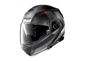 Helmet Flip-Up Full-Face Nolan N100.5 Hilltop 47 Flat Black