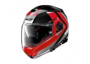 Helmet Flip-Up Full-Face Nolan N100.5 Hilltop 50 Glossy Black