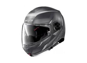 Helmet Flip-Up Full-Face Nolan N100.5 Lumiere 38 Flat Lava Grey