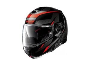 Helmet Flip-Up Full-Face Nolan N100.5 Lumiere 39 Glossy Black