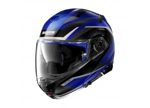 Helmet Flip-Up Full-Face Nolan N100.5 PLUS Overland 37 Cayman Blue