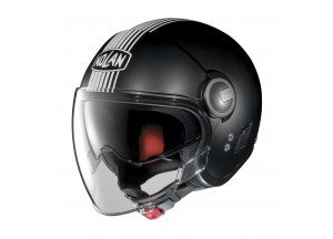 Helmet Jet Nolan N21 Visor Joie De Vivre 34 Flat Black