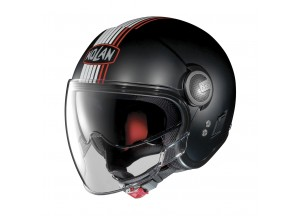 Helmet Jet Nolan N21 Visor Joie De Vivre 35 Flat Black