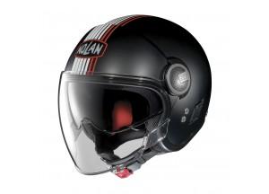 Helmet Jet Nolan N21 Visor Joie De Vivre 35 Flat Black