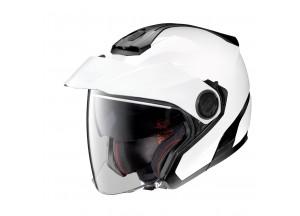Helmet Jet Nolan N40-5 Classic 5 Metal White