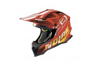 Helmet Full-Face Off-Road Nolan N53 Whoop 50 Led Orange