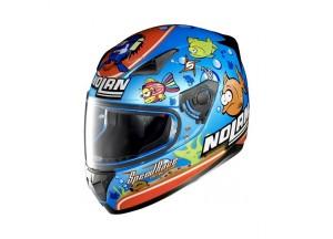 Helmet Full-Face Nolan N60.5 Gemini Replica 39 Melandri Aquarium Metal Blue
