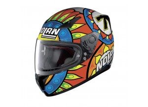 Helmet Full-Face Nolan N60.5 Gemini Replica 33 Chaz Davies Metal Black