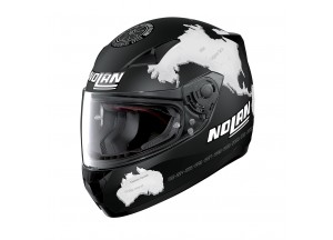 Helmet Full-Face Nolan N60.5 Gemini Replica 28 Carlos Checa Flat Black