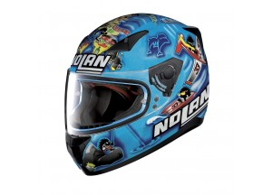 Helmet Full-Face Nolan N60.5 Gemini Replica 36 M. Melandri ITA Metal Pearl Blue