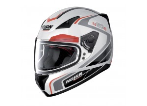 Helmet Full-Face Nolan N60.5 Practice 19 Metal White