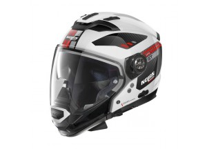 Helmet Full-Face Crossover Nolan N70.2 GT Bellavista 28 Metal White