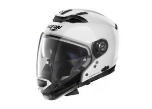 Helmet Full-Face Crossover Nolan N70.2 GT Classic 5 Metal White