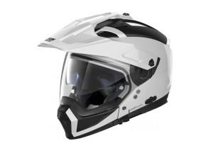 Helmet Full-Face Crossover Nolan N70.2 X Classic 5 Metal White