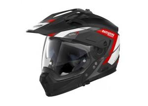Helmet Full-Face Crossover Nolan N70.2 X Grandes Alpes 20 Matt Black