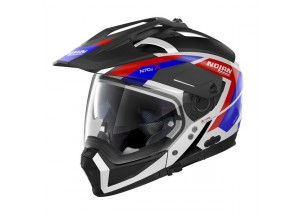 Helmet Full-Face Crossover Nolan N70.2 X Grandes Alpes 26 Metal White