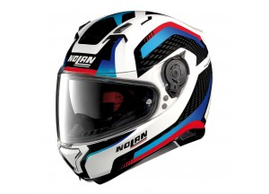 Helmet Full-Face Nolan N87 Arkad 40 Metal White