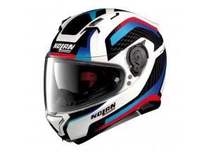 Helmet Full-Face Nolan N87 Arkad 40 Metal White