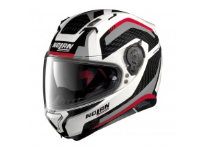 Helmet Full-Face Nolan N87 Arkad 43 Metal White