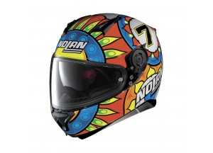 Helmet Full-Face Nolan N87 Gemini Replica Chaz Davies 54 Metal Black