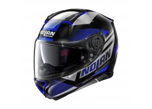 Helmet Full-Face Nolan N87 Jolt N-COM 102 Metal Black