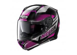 Helmet Full-Face Nolan N87 Jolt N-COM 103 Metal Black