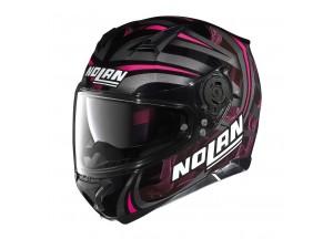 Helmet Full-Face Nolan N87 Ledlight 31 Glossy Black