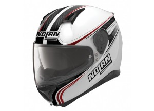Helmet Full-Face Nolan N87 Rapid 17 Metal White