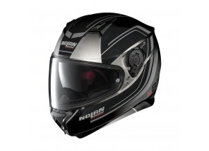 Helmet Full-Face Nolan N87 Savoir Faire 59 Fade Silver